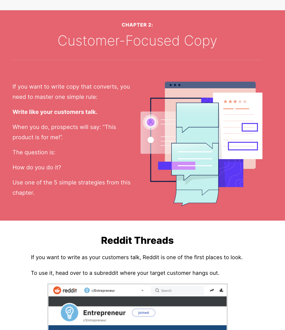 Example of engaging blog post